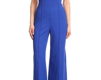 Boat Neck Jumpsuit