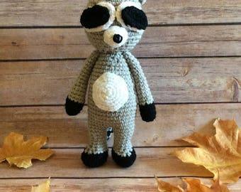 Crochet Raccoon