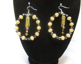 Handmade hoop earring set