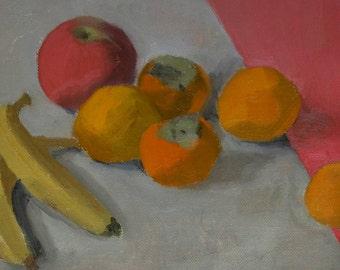 Oil painting original fruits still life
