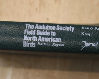 1984 Audubon Society Field Guide to North American Birds (Eastern Region) softcover by John Bull, John Farrand and Susan Rayfield