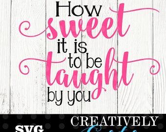 How sweet it is SVG