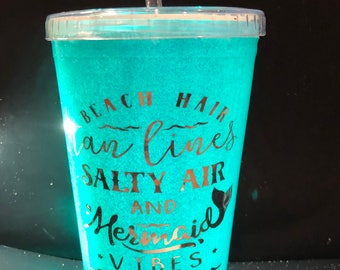 Glitter Tumbler Cups