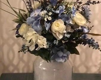 Wedding arrangement - Something Blue