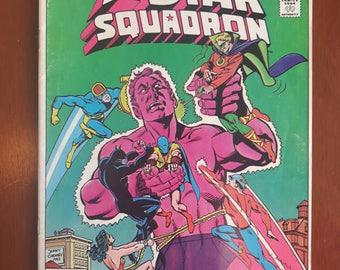 All Star Squadron Annual Vol 1 no. 1 Canadian Cover Variant 1982 DC Comics