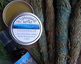 Cedar Salve/ Mist/ Care Package