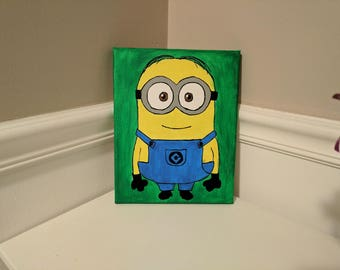 Minion canvas or character canvas, kids gift