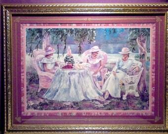 """Vintage Home Interior 'TEA PARTY 2"""""""