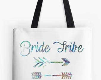 Bride Tribe Wedding Tote- Bride Tribe- Wedding Gifts- Custom Tote