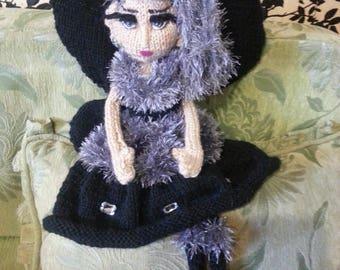 The Night Fairy - Handmade Decore Doll