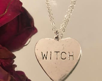 Witch Necklace - Must be the season of the Witch Necklace - Witchy Women Necklace