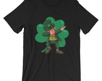 Dabbing leprechaun shirt - St Patrick Day t-shirt