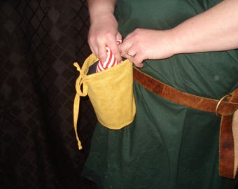 Yellow Belt Pouch