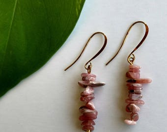 Kalahali's Rhodonite Bohemian Energy Earrings