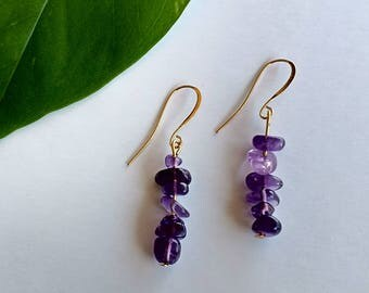 Kalahali's Amethyst Bohemian Energy Earrings