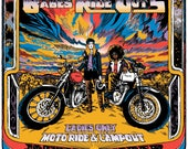 Babes Ride Out 5 poster; ...