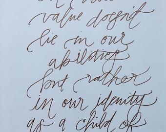 Child of God Print