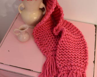 Handmade Ladies Knit Scarf