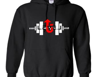 LevelUp weightlifting hoodie