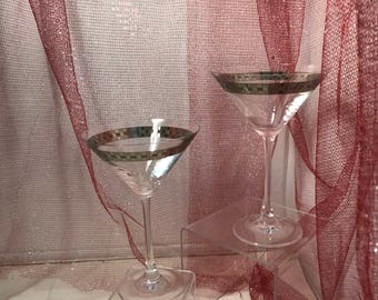 Pair of Martini Glasses