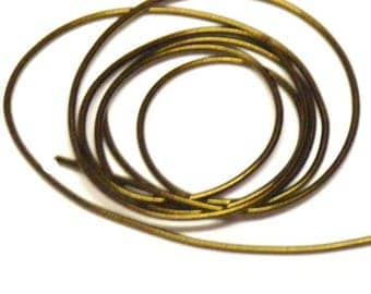 Antique gold french wire/gimp/purl