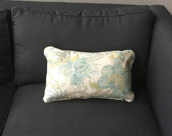 Duralee Floral Throw Pillow