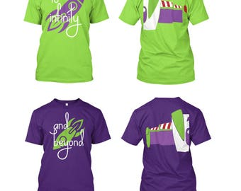 To Infinity And Beyond - Couples Matching Shirts