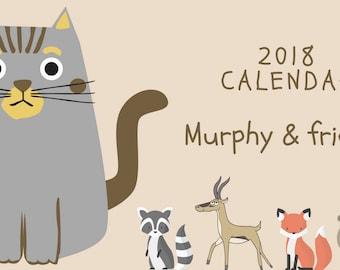 Murphy & friends 2018 Calendar