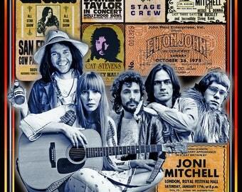 Neil, Joni, Cat, James, and Elton: Seventies Songwriters!