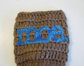 Handmade Crochet Moe. beer Can Cooler
