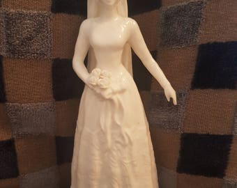 COALPORT BONE CHINA Bride Figurine