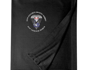 505th Parachute Infantry Regiment Embroidered Blanket-3424