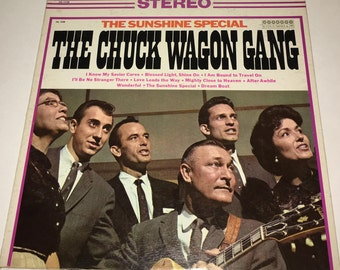 Chuck Wagon Gang The Sunshine Special Classic Gospel Vinyl Record Album LP