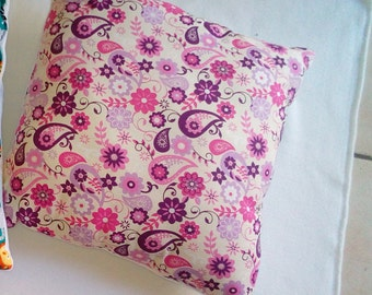 Pillow fabric print