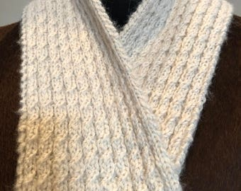 Paco-Vicuna Hand Knitted Scarf