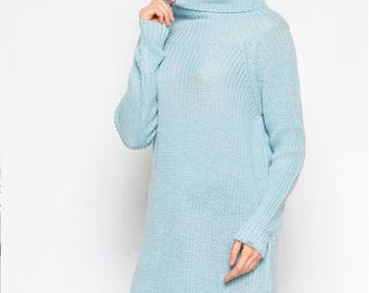 Sky blue sweater | Etsy