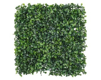 Boxwood Wall Flower Wall Artificial Greenery Wall Wedding Decorations Fake Flower Wall Greenery Flower Square Green Boxwood Sale Wholesale