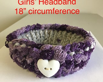 Girls' Knitted Headband