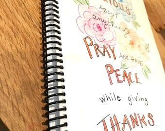 Daily Prayer/Scripture/Journal Spiral for Women