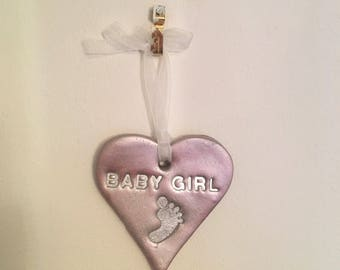 Baby Girl wall hanging
