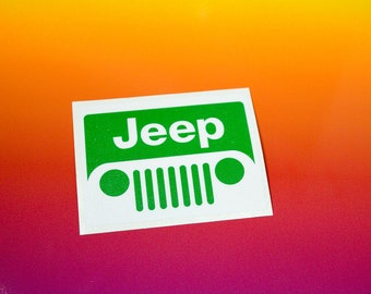 Jeep Vinyl Sticker
