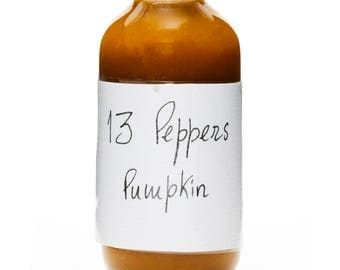HOT SAUCE - Pumpkin. Level of heat: 4/5