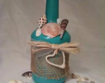 Seashell Bottle