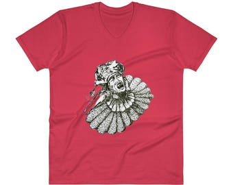 LUCY WESTENRA V-Neck T-Shirt