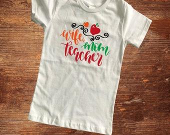 Teacher gift women's tee/ teacher appreciation gift/
