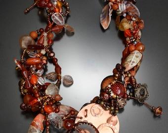 Copper Canyon Treasures Necklace
