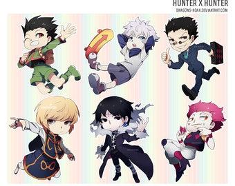 Hunter x Hunter 2.5inch charms