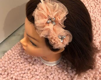 Double Flower Headbands
