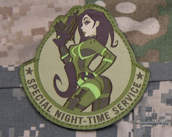 Special Night-Time Service Patch