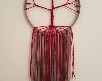Customizable Tree of Life yarn wall decor/ macrame